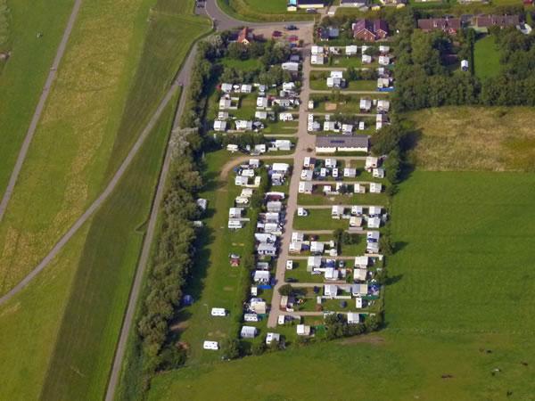 Nordsee Camping Luftbild